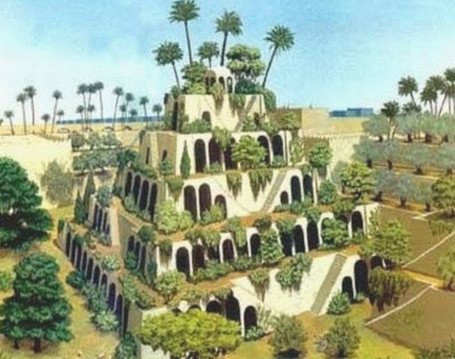 The Hanging Garden Of Babylon Looked Like The Garden Wa Thinglink