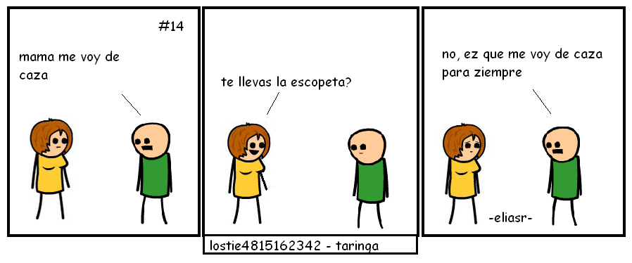 cyanide and happiness hechas por mi