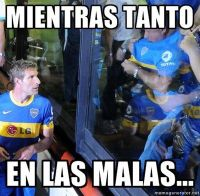 Todos hoy hablan bien de #BocaJrs porque va a salir campen.